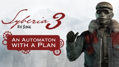 Syberia 3 - An Automaton With A Plan DLC