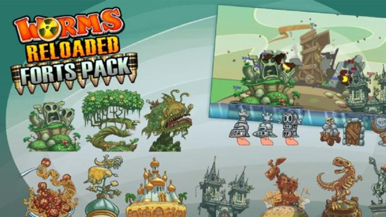 Worms Reloaded: Forts Pack DLC Team17 Digital Ltd