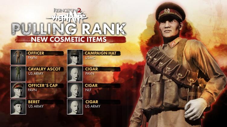 Rising Storm 2: Vietnam - Pulling Rank Cosmetic DLC фото