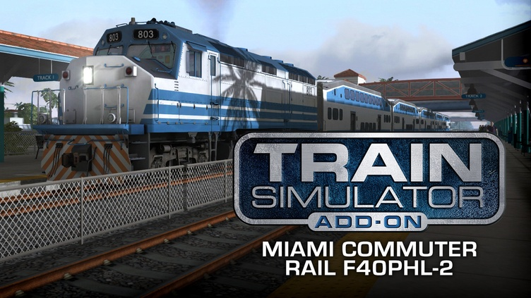 Train Simulator: Miami Commuter Rail F40PHL-2 Loco Add-On фото