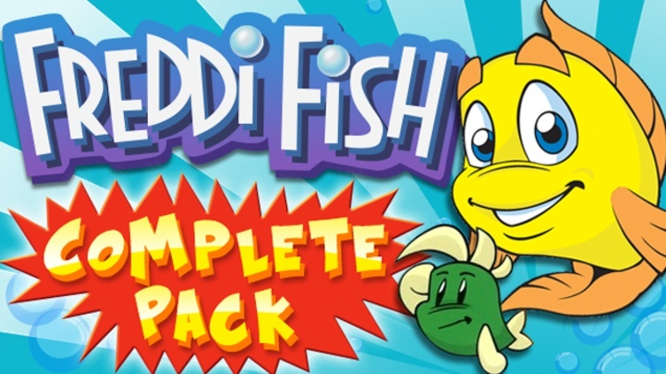 Freddi Fish Complete Pack фото