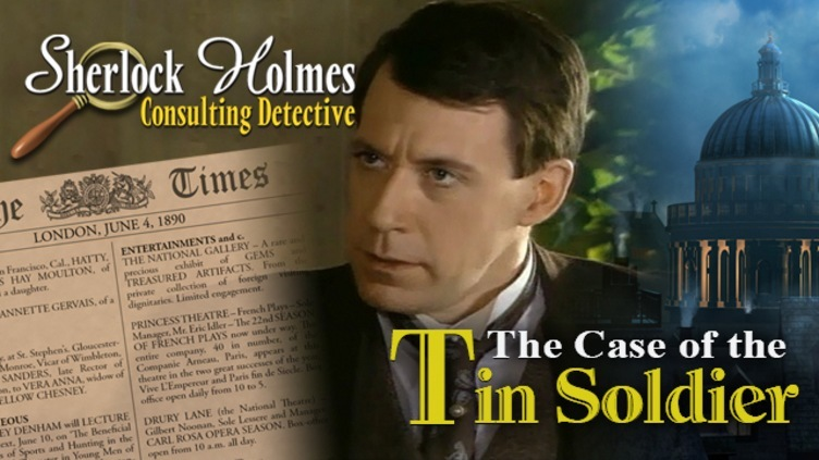 Sherlock Holmes Consulting Detective: The Case of the Tin Soldier фото