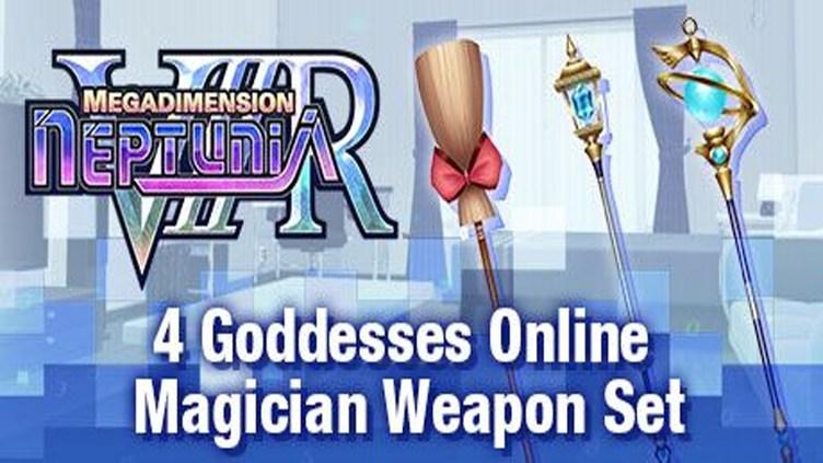 Megadimension Neptunia VIIR - 4 Goddesses Online Magician Weapon Set фото