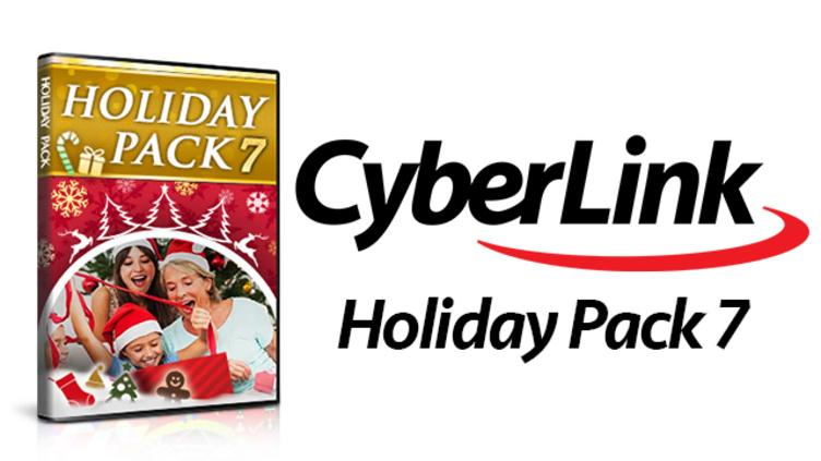 Holiday Pack 7 for CyberLink PowerDirector фото