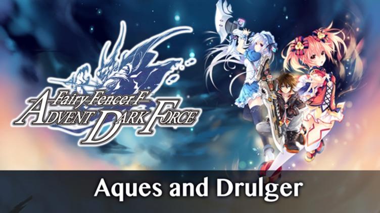 Fairy Fencer F ADF Fairy Set 2: Aques and Drulger фото