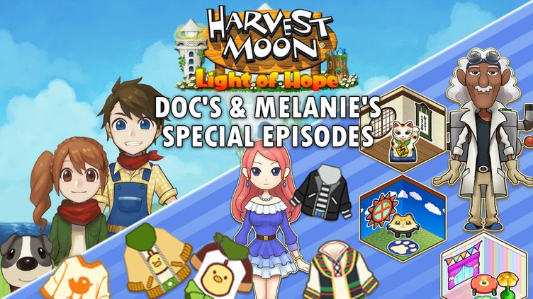 Harvest Moon: Light of Hope Special Edition - Doc's & Melanie's Special Episodes