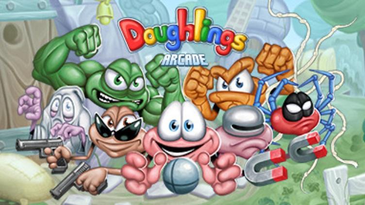 Doughlings: Arcade Hero Concept