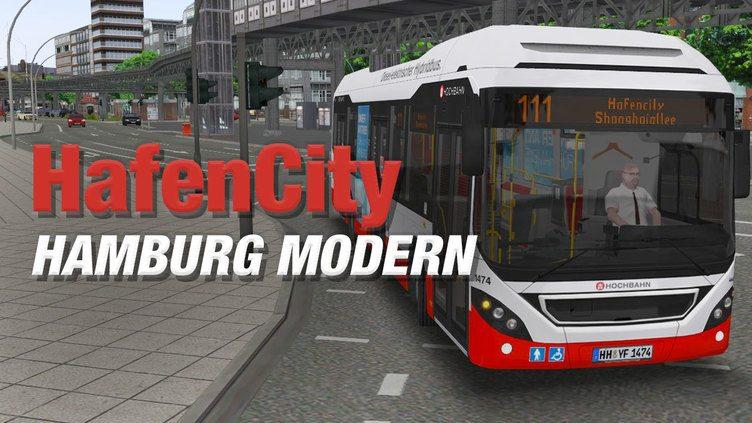 OMSI 2 Add-On HafenCity - Hamburg modern фото