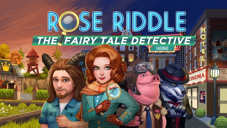 Rose Riddle: Fairy Tale Detective фото