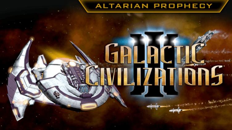 Galactic Civilizations III - Altarian Prophecy DLC фото