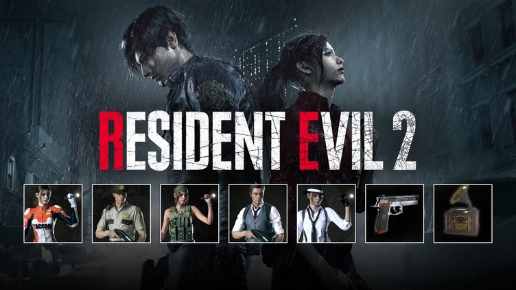CAPCOM / RESIDENT EVIL 2 / BIOHAZARD RE:2 - Extra DLC Pack