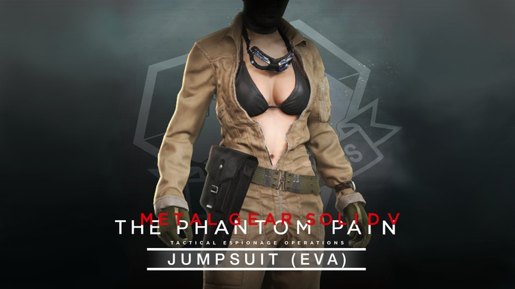 METAL GEAR SOLID V: THE PHANTOM PAIN - Jumpsuit (EVA) фото