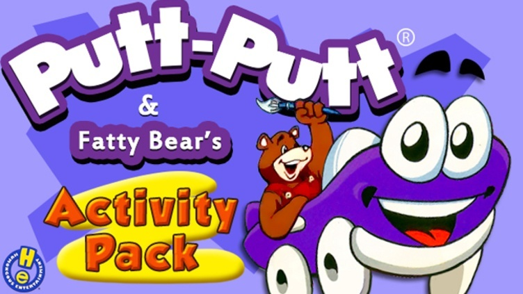 Putt-Putt® and Fatty Bear's Activity Pack фото