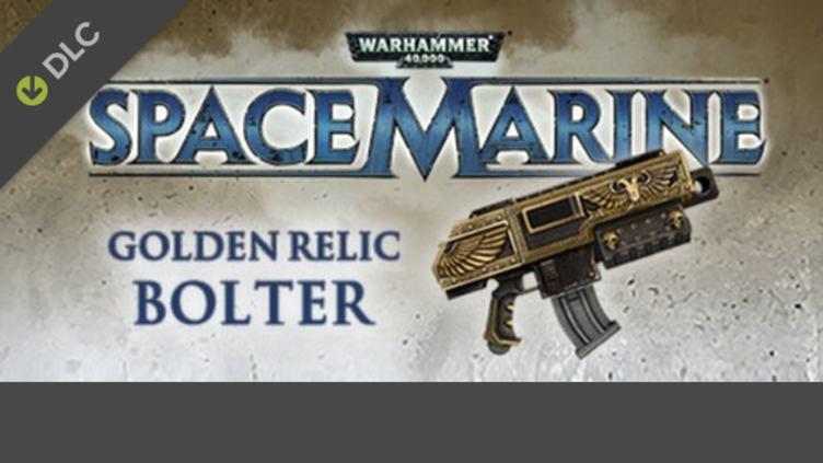 Warhammer 40,000: Space Marine - Golden Relic Bolter DLC фото