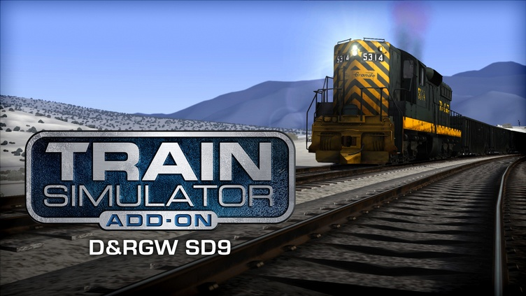 Train Simulator: D&RGW SD9 Loco Add-On Dovetail Games