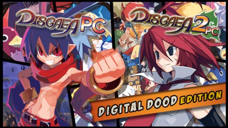 Disgaea 1 PC + Disgaea 2 PC Digital Doods Edition (Games + Art Books)