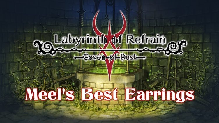 Labyrinth of Refrain: Coven of Dusk - Meel's Best Earring фото
