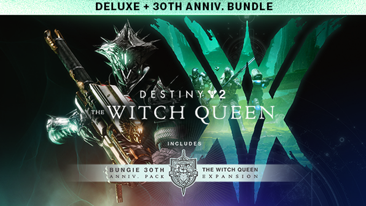 Destiny 2: The Witch Queen Deluxe + Bungie 30th Anniversary Bundle