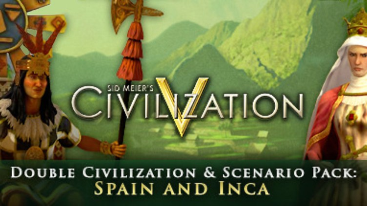 Sid Meier's Civlization V : Double Civilization and Scenario Pack - Spain and Inca DLC
