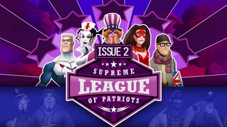 Supreme League of Patriots - Episode 2: Patriot Frames