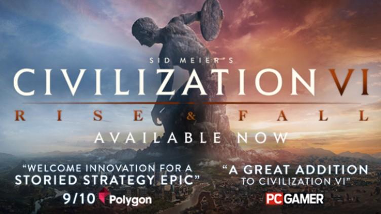 Sid Meier's Civilization VI: Rise and Fall DLC