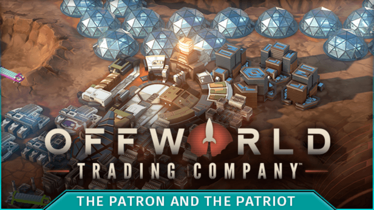 Offworld Trading Company - The Patron and the Patriot DLC фото