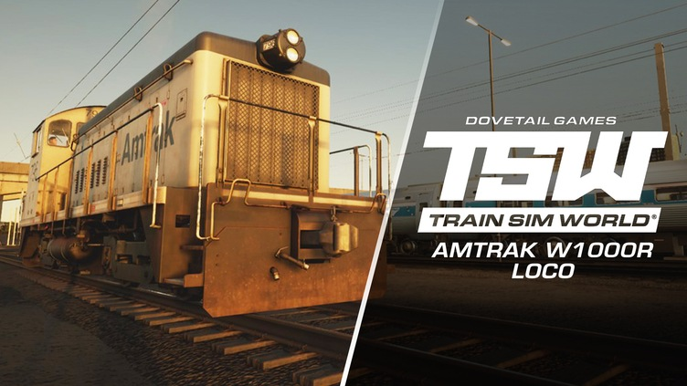 Train Sim World®: Amtrak SW1000R Loco Add-On