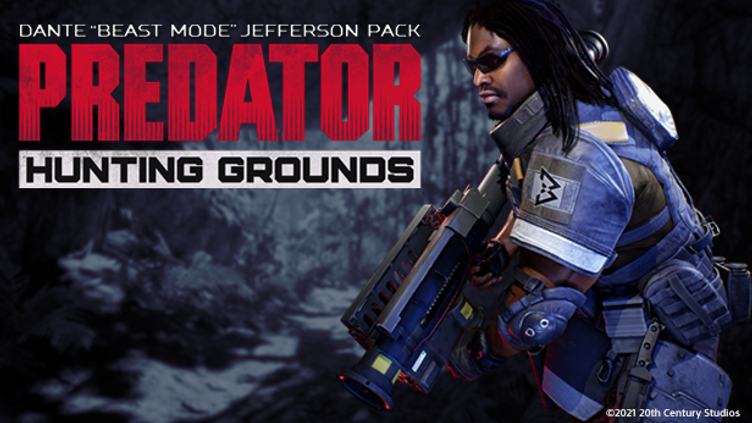 "Predator: Hunting Grounds - Dante ""Beast Mode"" Jefferson DLC Pack"