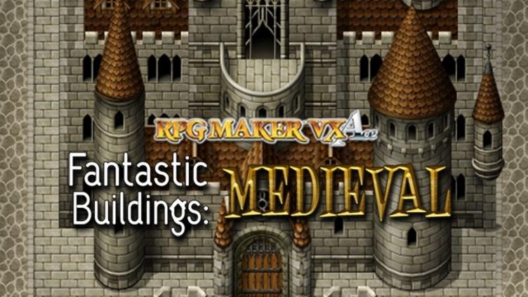 RPG Maker: Fantastic Buildings - Medieval DLC фото