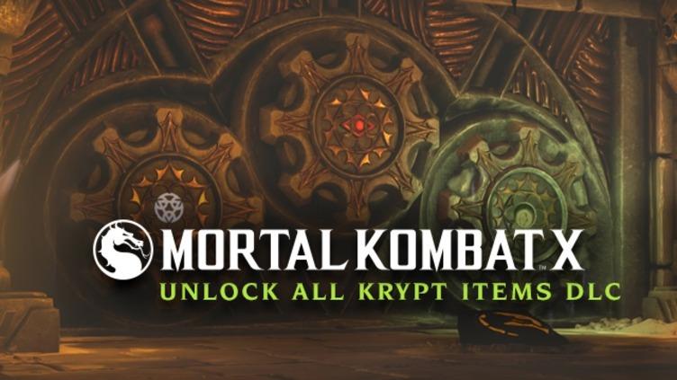Mortal Kombat X - Unlock all Krypt Items DLC