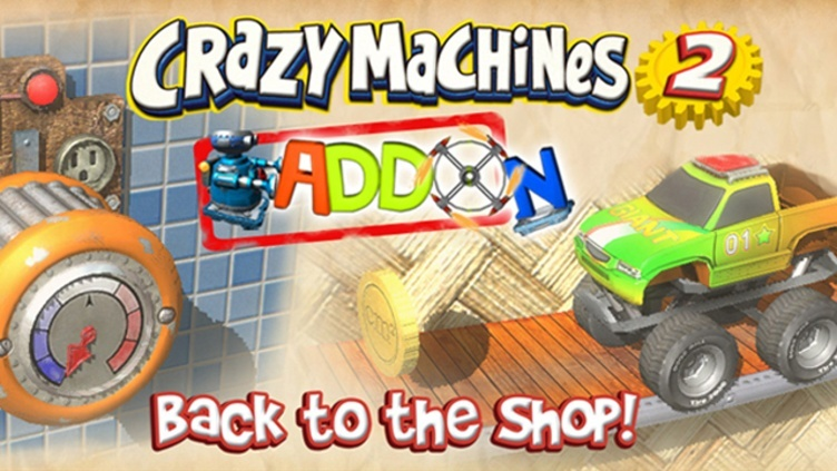 Crazy Machines 2: Back to the Shop Add-On фото