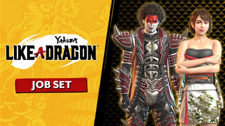 Yakuza: Like a Dragon Job Set