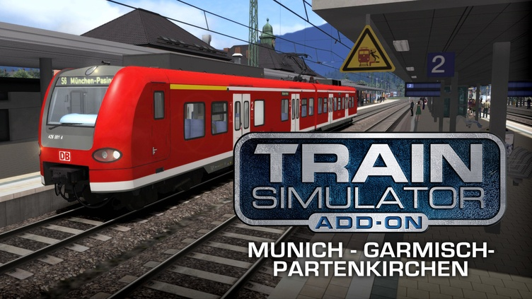Train Simulator: Munich - Garmisch-Partenkirchen Route Add-On фото