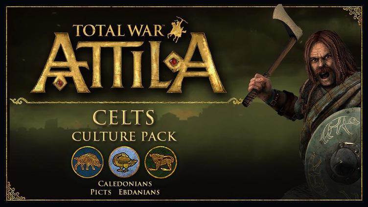 Total War: ATTILA - Celts Culture Pack DLC фото