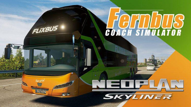 Fernbus Simulator - Neoplan Skyliner фото