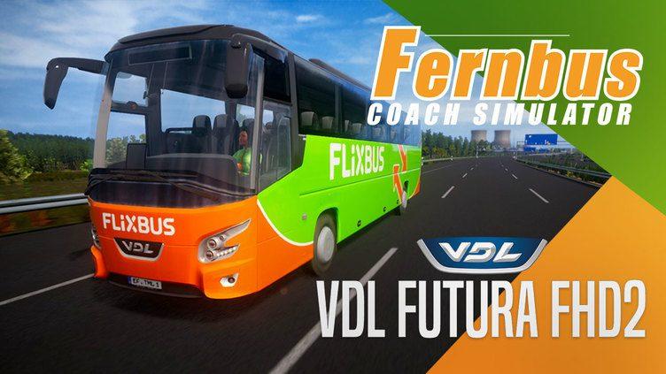 Fernbus Simulator - VDL Futura FHD2 фото