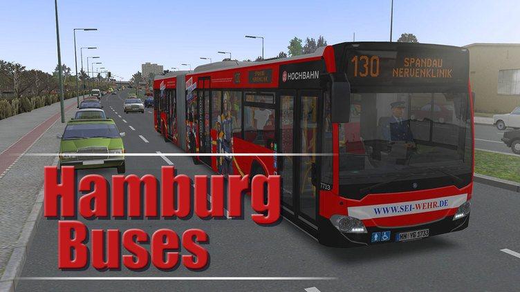 OMSI 2 Add-on Hamburger Buspaket фото