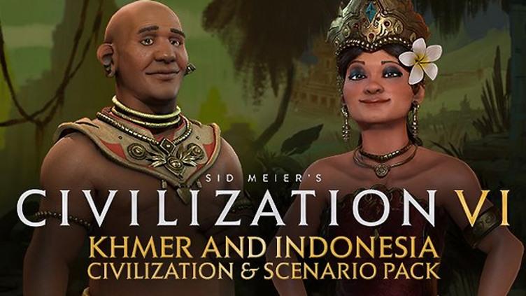 Civilization VI - Khmer and Indonesia Civilization & Scenario Pack фото
