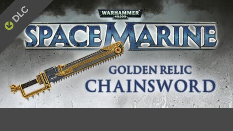 Warhammer 40,000: Space Marine - Golden Relic Chainsword DLC фото