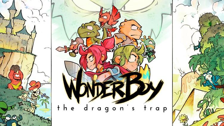 Wonder Boy: The Dragon's Trap фото