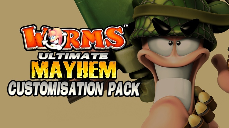 Worms Ultimate Mayhem - Customization Pack DLC фото