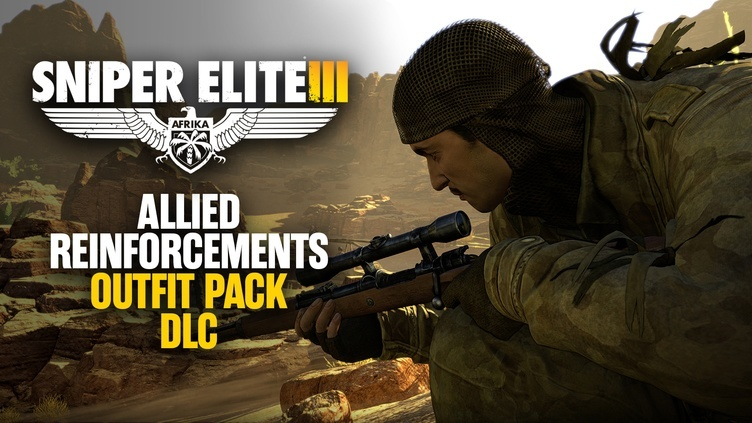 Sniper Elite 3 - Allied Reinforcements Outfit Pack DLC фото