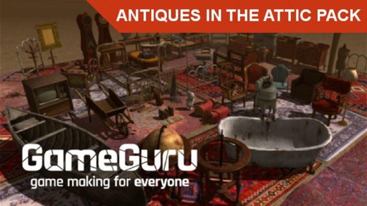 GameGuru - Antiques In The Attic Pack фото