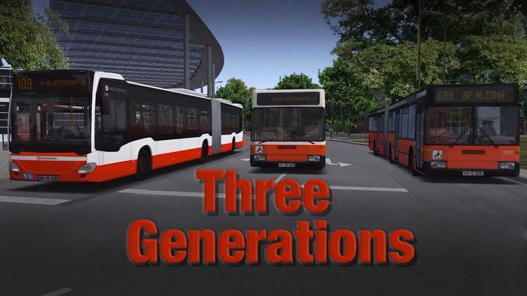 OMSI 2 Add-on Three Generations фото