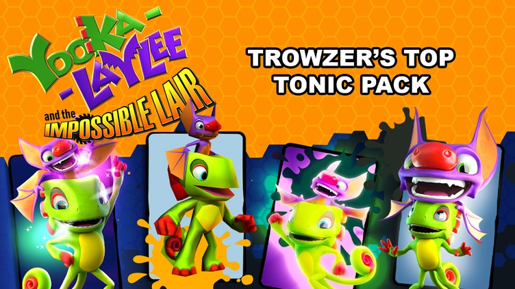 Yooka-Laylee and the Impossible Lair Trowzers Tonics фото