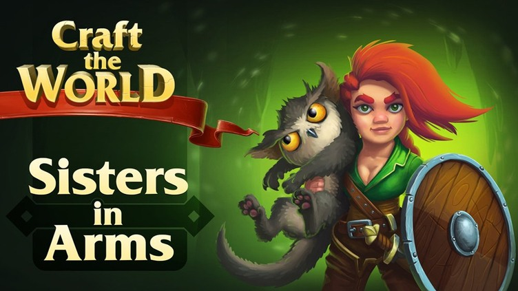 Craft The World - Sisters in Arms DLC фото