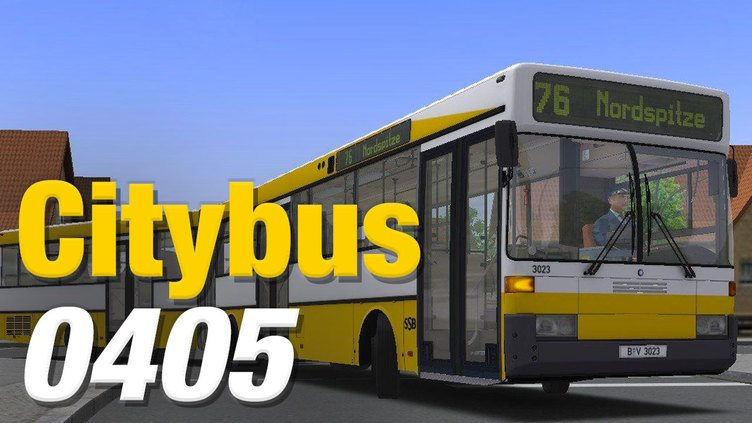 OMSI 2 Add-On Citybus O405 фото