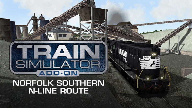 Train Simulator: Norfolk Southern N-Line Route Add-On фото