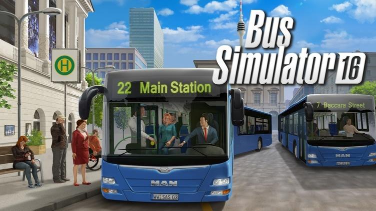 Bus Simulator 16 фото