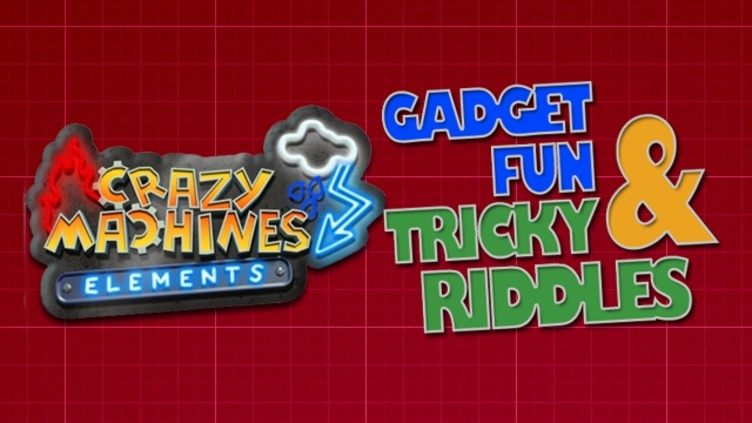 Crazy Machines Elements DLC - Gadget Fun & Tricky Riddles DLC фото